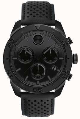 Movado Мужской перламутровый черный хронограф 3600517