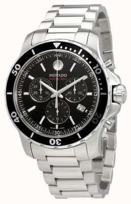 Movado Мужская серия 800 хронограф из нержавеющей стали черный циферблат 2600142