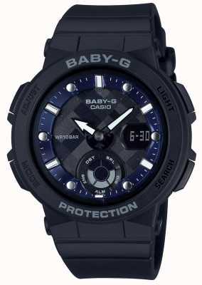 Casio Baby-g черный ремень пляж путешественник BGA-250-1AER
