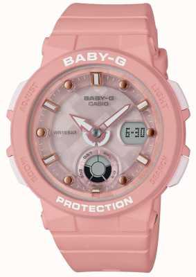 Casio Baby-g розовый ремень пляж путешественник BGA-250-4AER