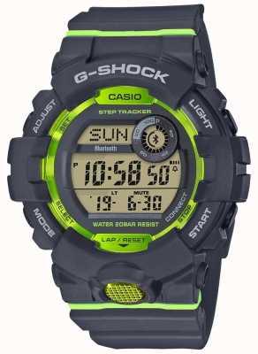 Casio G-squad серо-зеленый цифровой пульт отслежывателя bluetooth GBD-800-8ER