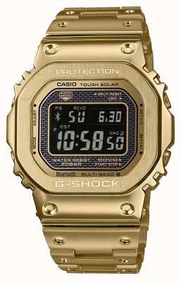 Casio G-shock радиоуправляемая Bluetooth, солнечная позолоченная сталь GMW-B5000GD-9ER