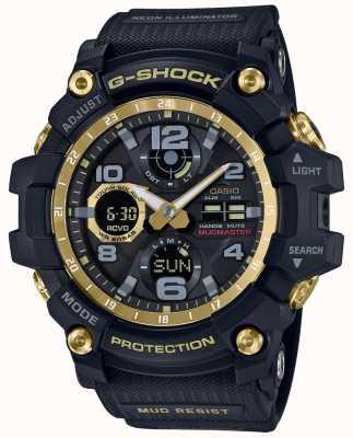 Casio G-shock радиоуправляемый ремень из черного золота GWG-100GB-1AER