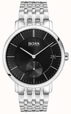 Boss Черный циферблат из нержавеющей стали 1513641