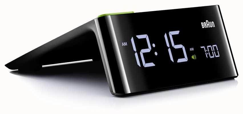 Braun Цифровой прикроватный будильник | ЖК дисплей BNC016BKUK