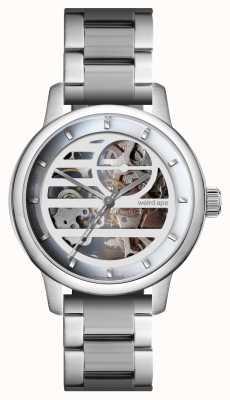 Weird Ape Розалинд белый серебристый / серебряный браслет WA02-005833