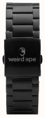 Weird Ape Черный браслет 20 мм ST01-000002