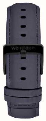 Weird Ape Синяя фиолетовая замша 20мм ремешок черная пряжка ST01-000079