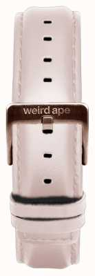 Weird Ape Обнаженная кожа 16мм ремешок из розового золота ST01-000034