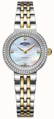 Rotary Дамы Кенсингтон | двухцветный браслет из нержавеющей стали | LB05371/41