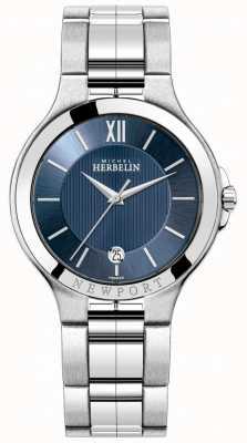 Michel Herbelin Мужские часы Newport с синим циферблатом 12298/B15