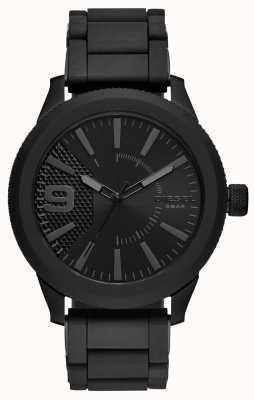 Diesel Мужской черный браслет с металлическим браслетом DZ1873