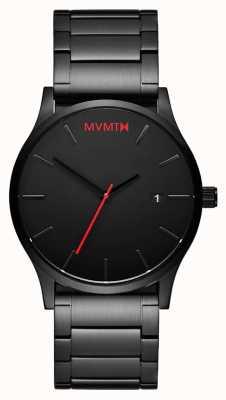 MVMT Классическая черная ссылка | черный пвд | черный циферблат D-L213.5B.551