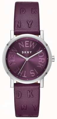 DKNY Женская обувь Soho фиолетовый кожаный фиолетовый циферблат NY2762