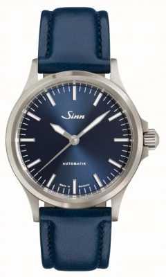 Sinn 556 ib синий ремешок из воловьей кожи 556.0104 BLUE COWHIDE STRAP