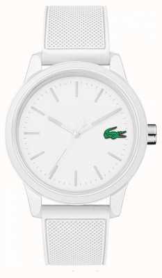 Lacoste Белые резиновые часы 12.12 2010984