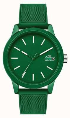 Lacoste 12.12 зеленый силиконовый ремешок 2010985