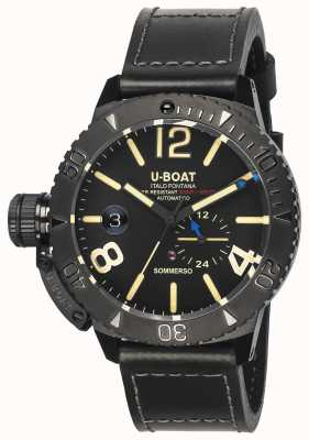 U-Boat Часы Sommerso 46 dlc automatic 9015