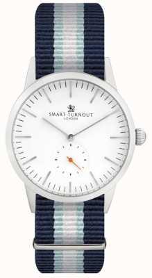 Smart Turnout Часы подписи - белый с ремешком yh STK3/WH/56/W