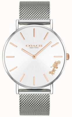 Coach Женские серебряные часы-браслет с перри 14503124