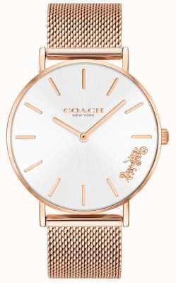 Coach Женские часы-браслет из розового золота с перри 14503126