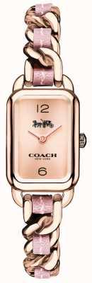 Coach Женские ludlow розовое золото и розовые часы браслета 14502844