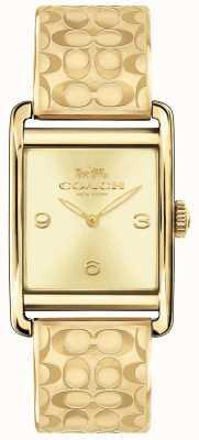 Coach Женские часы Renwick Gold 14502849