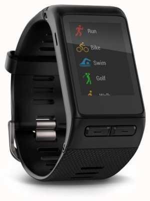 Garmin Vivoactive smartwatch hr черный встроенный монитор сердечного ритма 010-01605-00