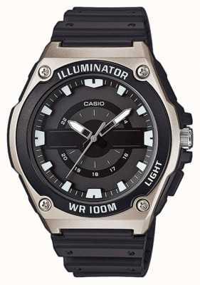 Casio Мужские черные лампы MWC-100H-1AVEF