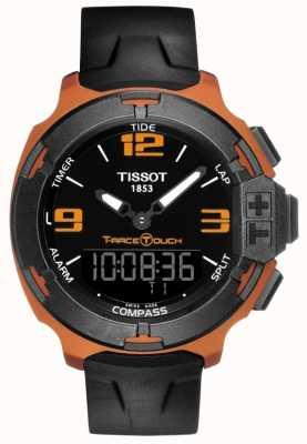 Tissot Черный ремень T0814209705703
