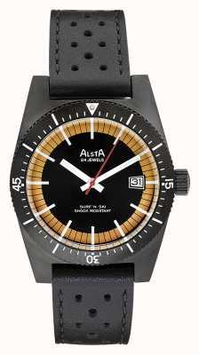 Alsta Surf n ski limited edition черная кожа с черным покрытием SURF N SKI