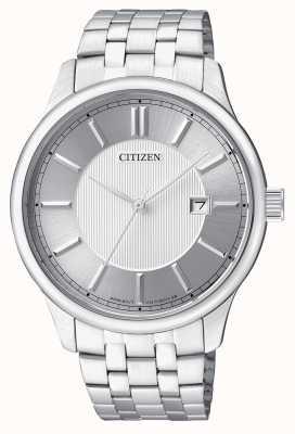 Citizen Мужская кварцевая нержавеющая сталь минимальный дизайн даты отображения BI1050-56A
