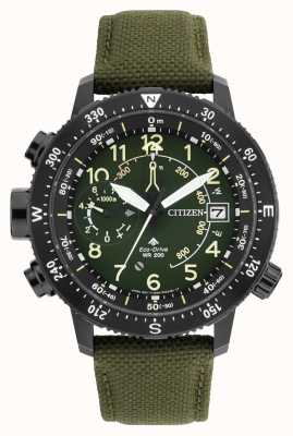 Citizen Мужские эко-диски Promaster Altichron WR200 часы BN4045-12X