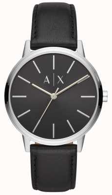 Armani Exchange Черный циферблат Cayde мужской черный AX2703