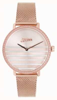 Jean Paul Gaultier Гламурные женские часы с розовым золотом JP8505601