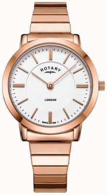 Rotary Женские часы из розового золота LB00767/02