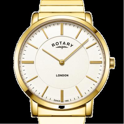 Rotary Мужские часы с браслетом из нержавеющей стали GB02766/03