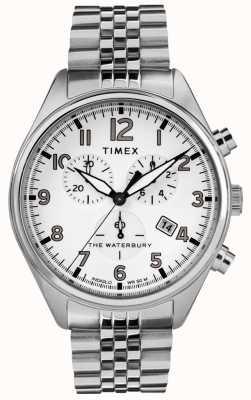 Timex Мужской браслет из белого хроно TW2R88500