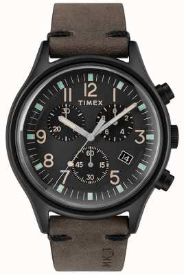 Timex Mens mk1 sst chrono 42mm черный корпус черный циферблат TW2R96500