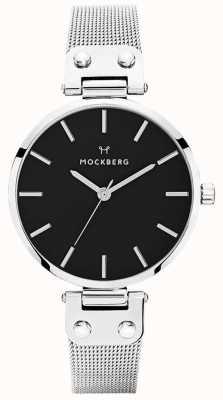 Mockberg Женская сетка из нержавеющей стали elise noir MO1604
