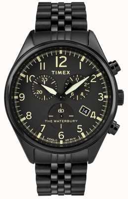 Timex Черные часы с хронографом TW2R88600D7PF