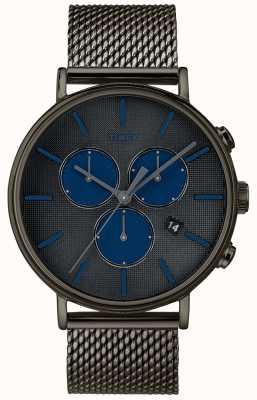 Timex Часы с хронографом Fairfield Supernova с серым сетчатым ремешком TW2R98000D7PF