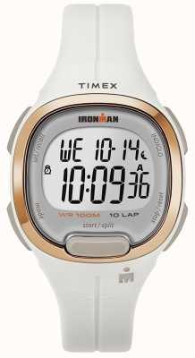 Timex Железный человек имеет важное белое и розовое золото TW5M19900SU