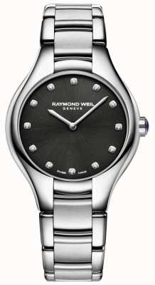 Raymond Weil Набор диамантов черного алмаза для женщин 5132-ST-20081