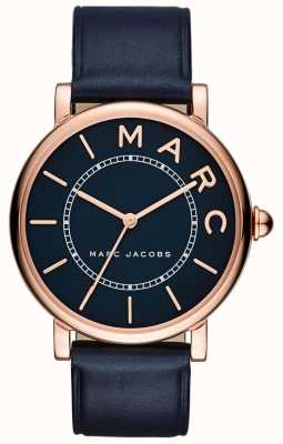 Marc Jacobs Женская марка jacobs классические часы темно-синяя кожа MJ1534