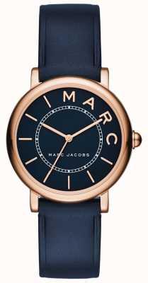 Marc Jacobs Женская марка jacobs классические часы темно-синяя кожа MJ1539