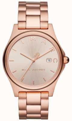 Marc Jacobs Женские женские часы розового золота MJ3585