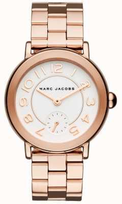 Marc Jacobs Женские яркие часы розового золота MJ3471