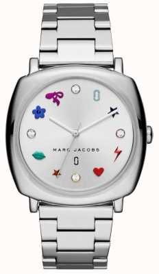 Marc Jacobs Женская манди смотреть серебряный тон MJ3548