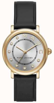 Marc Jacobs Женская марка jacobs классические часы black leatherr MJ1641